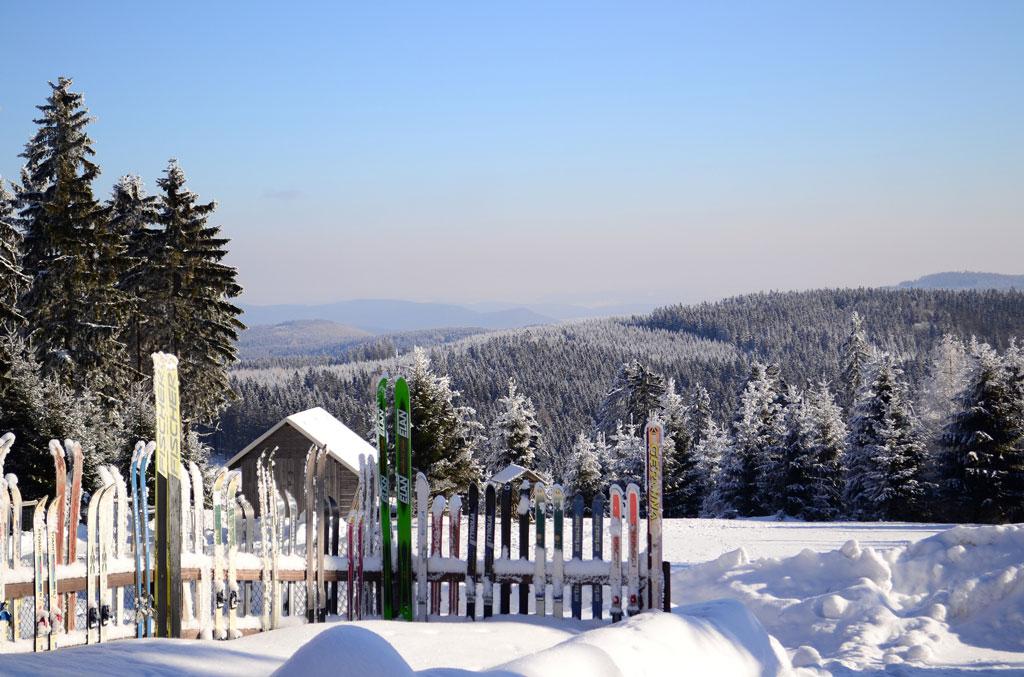 Oberhof Panorama Schneekopf